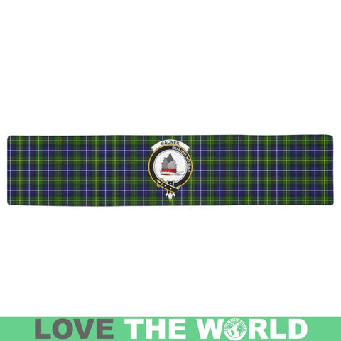 Image of Macneill Of Barra Modern Tartan Table Runner - Tn Runners