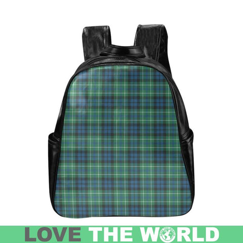 Image of Macneill Of Colonsay Ancient Tartan Multi-Pockets Backpack Nl25 Multi Pocket Backpacks