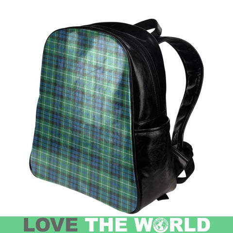 Macneill Of Colonsay Ancient Tartan Multi-Pockets Backpack Nl25 Multi Pocket Backpacks