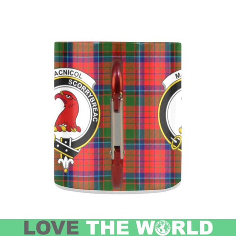 Image of Tartan Mug - Clan Macnicol (Of Scorrybreac) Tartan Insulated Mug A9 | Love The World