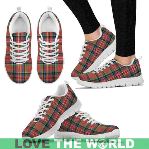 Image of Macpherson Ancient Tartan Sneakers - Bn Mens Sneakers Black 1 / Us5 (Eu38)