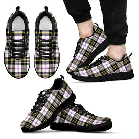 Image of Macpherson Dress Modern Tartan Sneakers - Bn Mens Sneakers Black 1 / Us5 (Eu38)