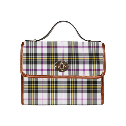 Macpherson Dress Modern Tartan Canvas Bag | Waterproof Bag | Scottish Bag