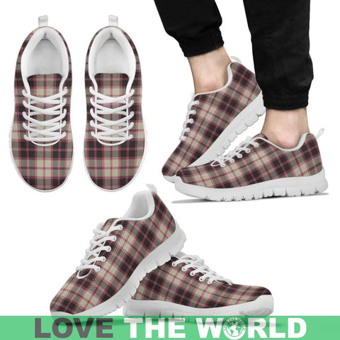 Image of Macpherson Hunting Ancient Tartan Sneakers - Bn Mens Sneakers Black 1 / Us5 (Eu38)