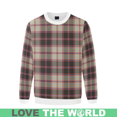 Image of Macpherson Hunting Ancient Tartan Sweatshirt Nn5 |Clothing| 1sttheworld