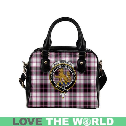 Image of Macpherson Hunting Modern Tartan Shoulder Handbag - Bn Pu Handbags