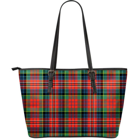 Macpherson (Mcpherson) Ancient Tartan Handbag - Large Leather Tartan Bag Th8 |Bags| Love The World