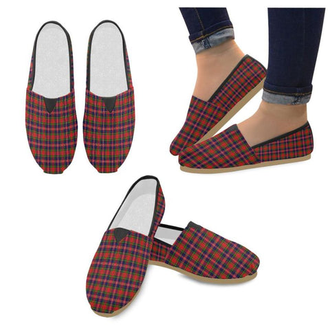 Image of Macpherson Modern Tartan Womens Casual Shoes S7