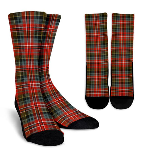 Macpherson Weathered Tartan Socks, scotland socks, scottish socks, Xmas, Christmas, Gift Christmas, noel, christmas gift, tartan socks, clan socks, crew socks, warm socks
