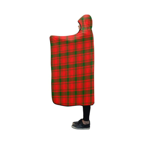 Macquarrie Modern Tartan Hooded Blanket - M One Size / Hooded Blanket 50X40 Blankets