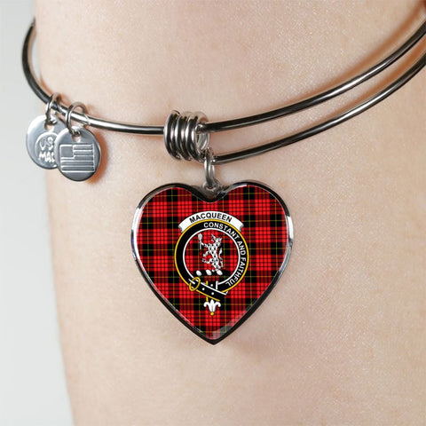 Image of Macqueen Tartan Silver Bangle - Sd1 Jewelries