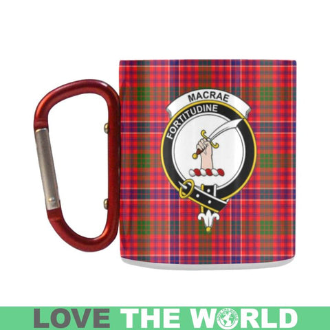 Tartan Mug - Clan Macrae Tartan Insulated Mug A9 | Love The World