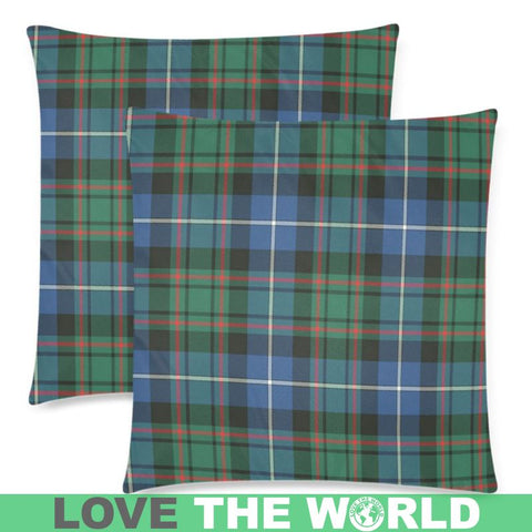 Image of Macrae Hunting Ancient Tartan Pillow Cases Hj4 One Size / Macrae Hunting Ancient Back Custom