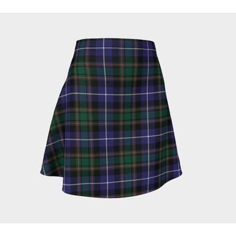 Tartan Skirt - Macrae Hunting Modern Women Flared Skirt A9 |Clothing| 1sttheworld