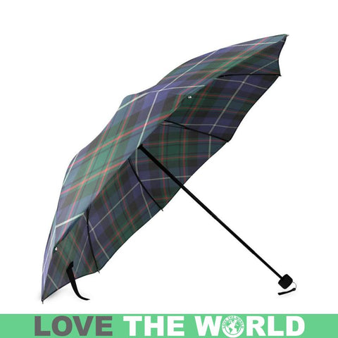 Macrae Hunting Modern Tartan Foldable Umbrella Th8 |Accessories| 1sttheworld