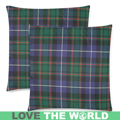 Image of Macrae Hunting Modern Tartan Pillow Cases Hj4 One Size / Macrae Hunting Modern Back Custom Zippered
