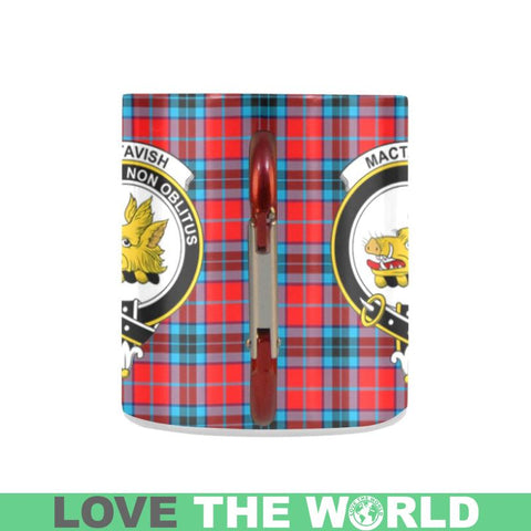 Tartan Mug - Clan Mactavish Tartan Insulated Mug A9 | Love The World