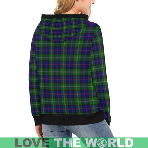 Macthomas Modern Tartan High Neck  Hoodie - Bn |Clothing| 1sttheworld