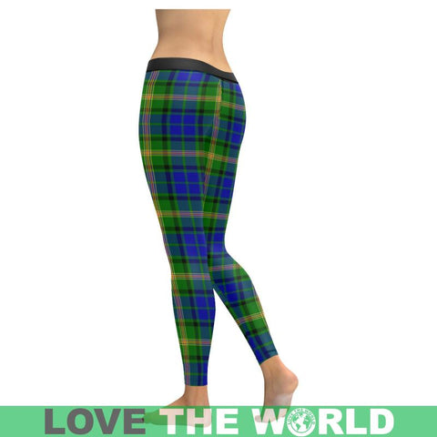 Maitland Tartan Legging S1 Low Rise Leggings