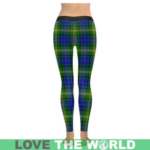 Image of Maitland Tartan Legging S1 Low Rise Leggings