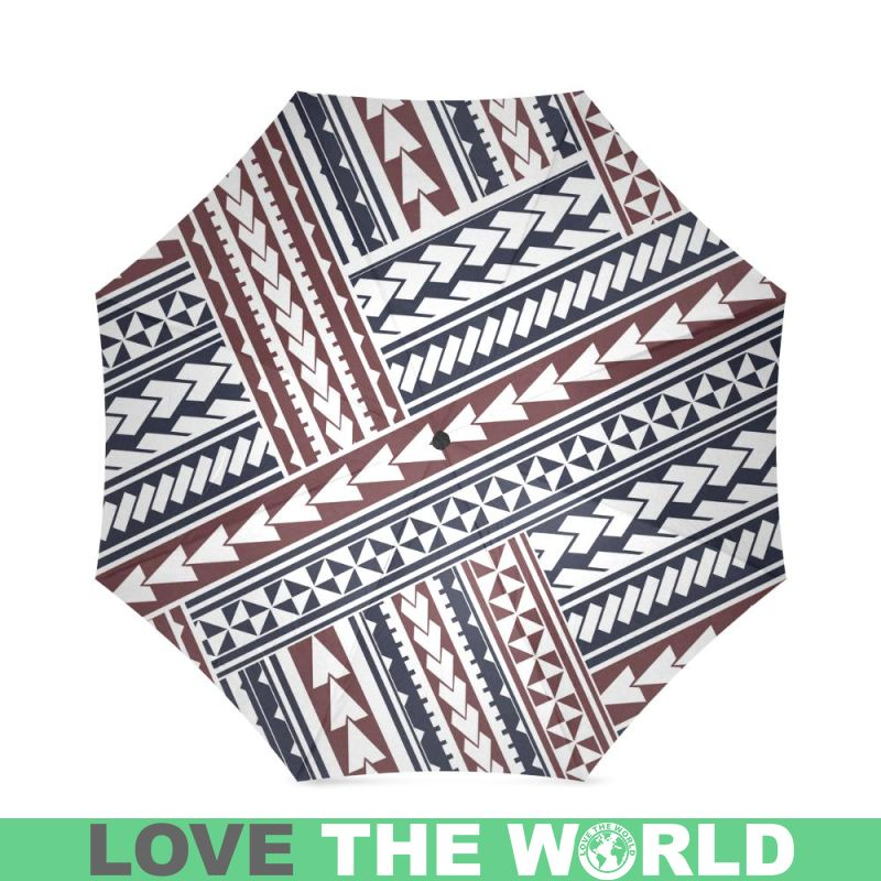 MAORI PATTERN FOLDABLE UMBRELLA BN 40stTheWorld Adorable Maori Patterns