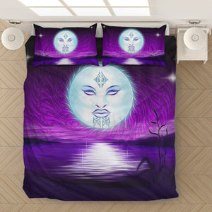 Maori Goddesses Bedding Set K4