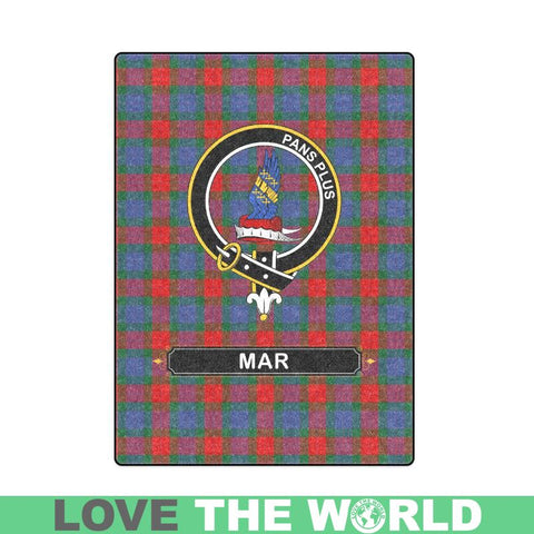 Mar Tartan Blanket | Clan Crest | Shop Home Decor