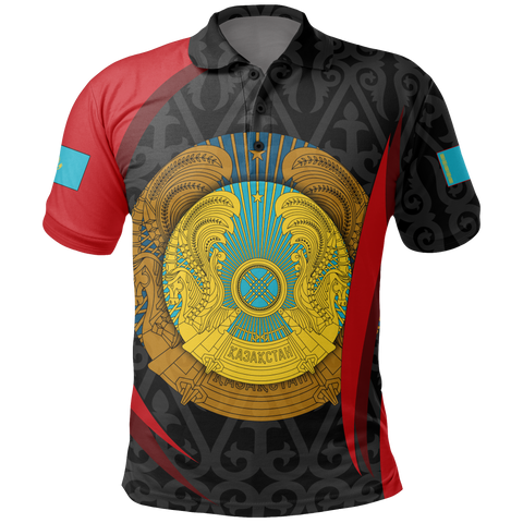 Image of Kazakhstan Polo shirt - Kazakhstan Spirit