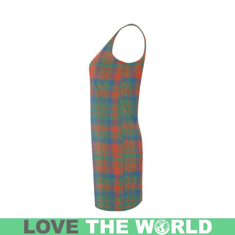 Image of Matheson Ancient Tartan Medea Vest Dress | Women Dresses | 1sttheworld