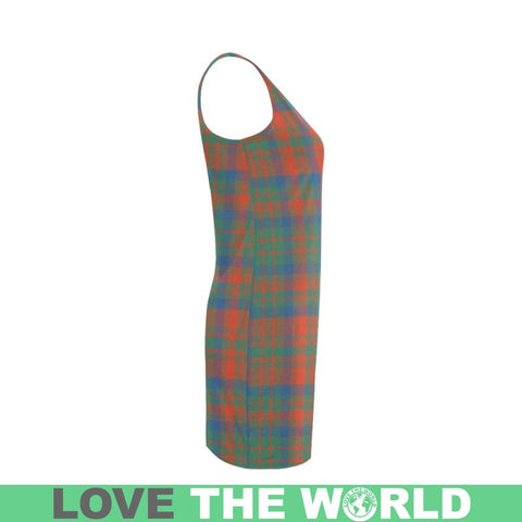 Matheson Ancient Tartan Medea Vest Dress | Women Dresses | 1sttheworld