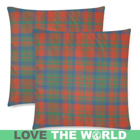 Matheson Ancient Tartan Pillow Cases Hj4 One Size / Matheson Ancient Back Custom Zippered Pillow