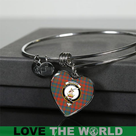 Image of Matheson Ancient Tartan Silver Bangle - Sd1 Luxury Bangle (Silver) Jewelries