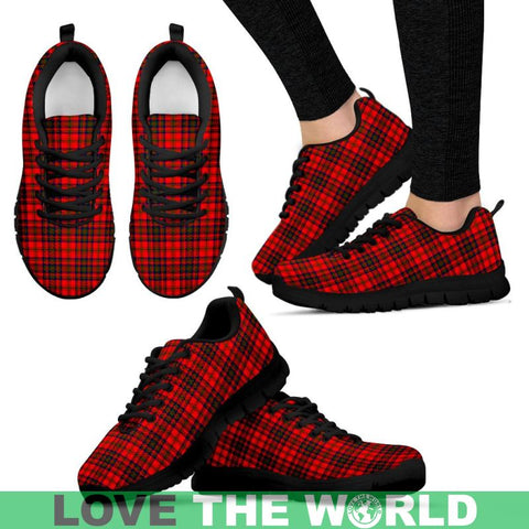 Image of Matheson Modern Tartan Sneakers - Bn Mens Sneakers Black 1 / Us5 (Eu38)