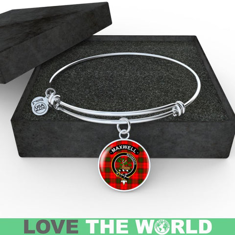 Image of Maxwell Clan Tartan Silver (Necklace/Bangle)  A9 |Accessories| 1sttheworld