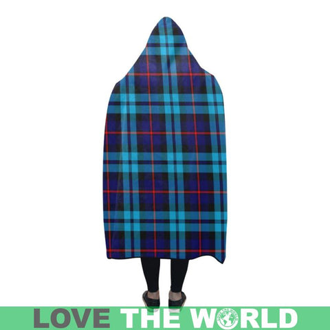Image of Mccorquodale Tartan Hooded Blanket - Bn | Love The World