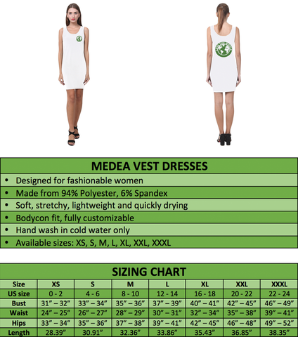 Tahiti Medea Vest Dress A7