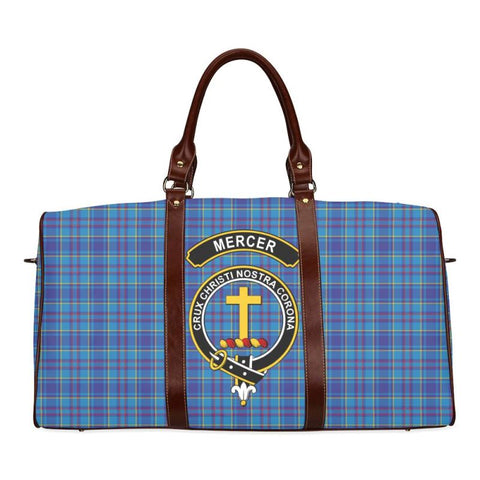 Tartan Travel Bag - Mercer Clan | Scottish Travel bag | 1sttheworld
