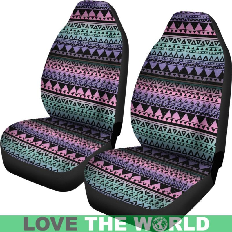 Mexico Aztec Pattern 04 Car Seat Cover