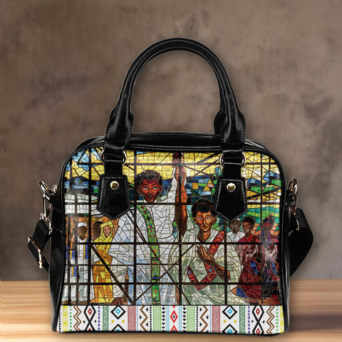 Image of Ethiopia Shoulder Handbag, Ethiopian Orthodox A10