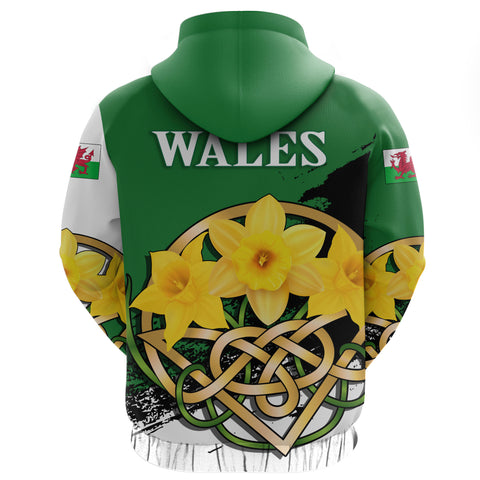 Wales Hoodie - Daffodil Celtic Knot | Clothing | Love The World