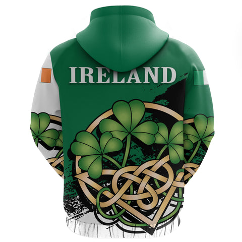 Ireland Zip Hoodie - Happy St. Patrick's Day | Special Custom Design