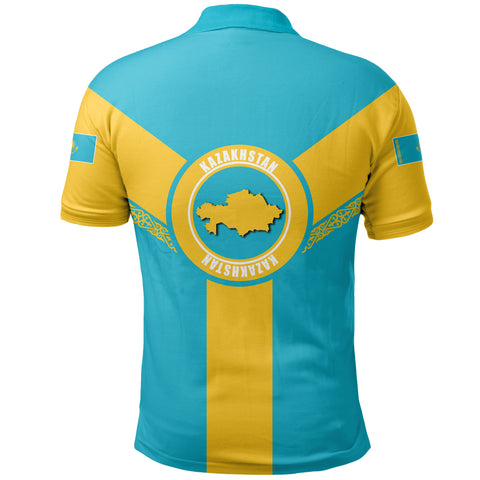 Kazakhstan Polo Shirt Rising A10
