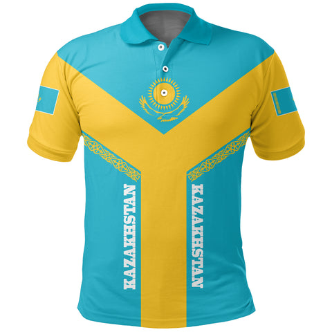 Image of Kazakhstan Polo Shirt Rising A10