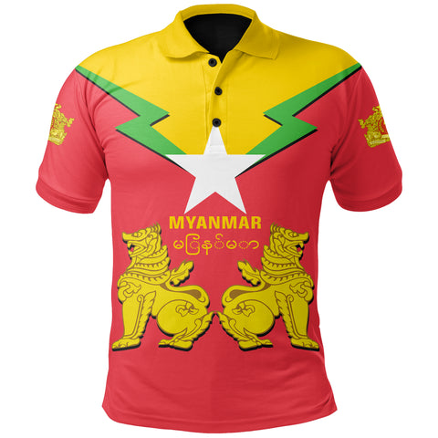 Image of Myanmar Polo Burmese Chinthe