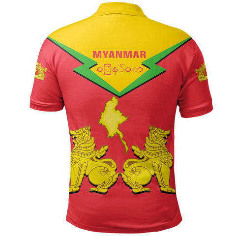 Image of Myanmar Polo Burmese Chinthe TH5
