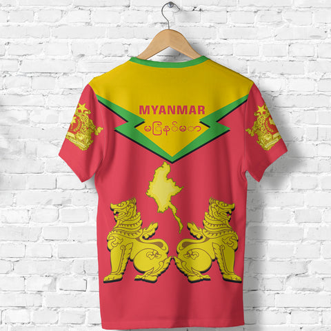Image of Myanmar T-Shirt Burmese Chinthe TH5