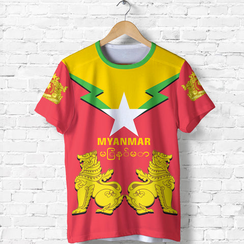 Image of Myanmar T-Shirt Burmese Chinthe