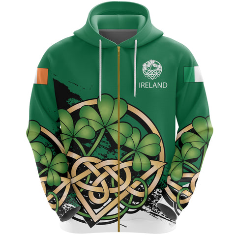 Image of Custom Ireland Special Zip Hoodie A02