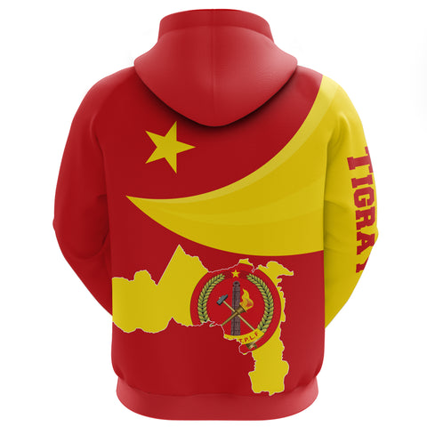 1stTheWorld Tigray Hoodie, Tigray Coat Of Arms Flag Lion Ver 06 A10