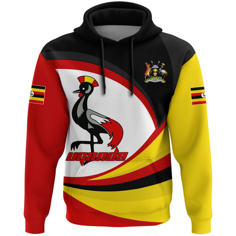 Image of 1stTheWorld Uganda Hoodie, Uganda Strong Flag A10